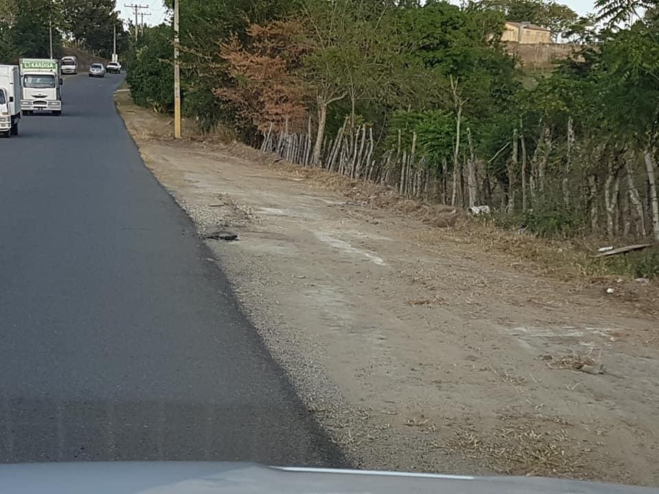 Son acomodadas la calles del municipio Villa los Almácigos